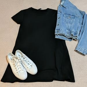 💎2/$20 ZARA Black Tshhirt dress